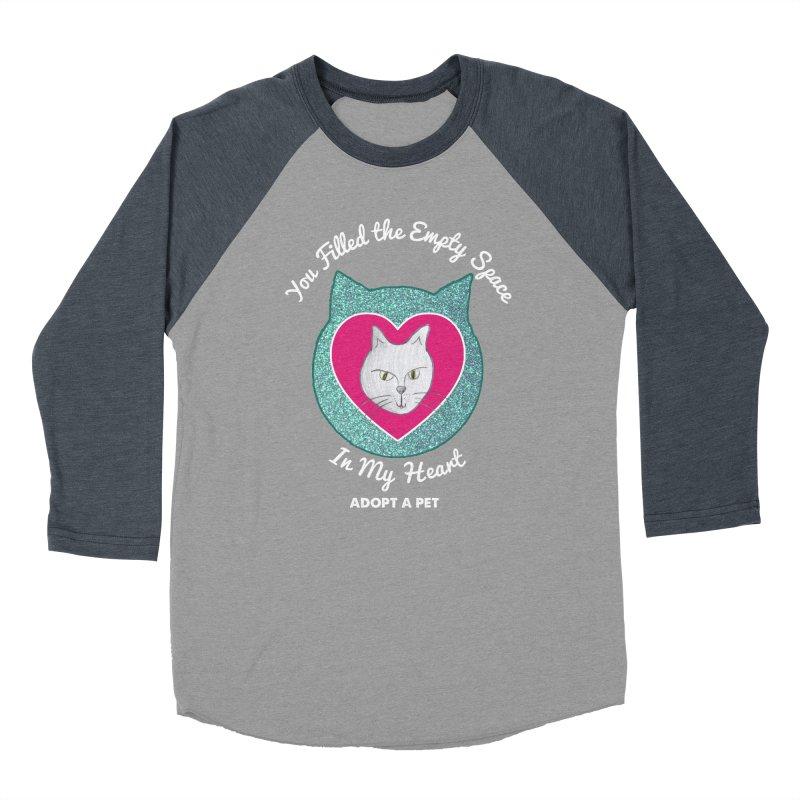 Adopt a Cat Women's Baseball Triblend Longsleeve T-Shirt by My Rewritten World Artist Shop