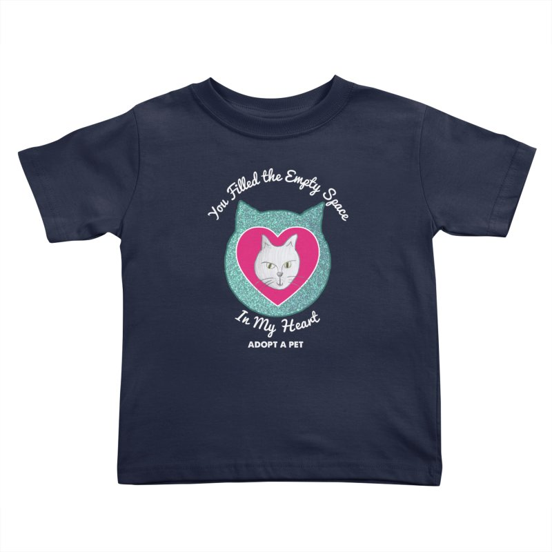 Adopt a Cat Kids Toddler T-Shirt by My Rewritten World Artist Shop