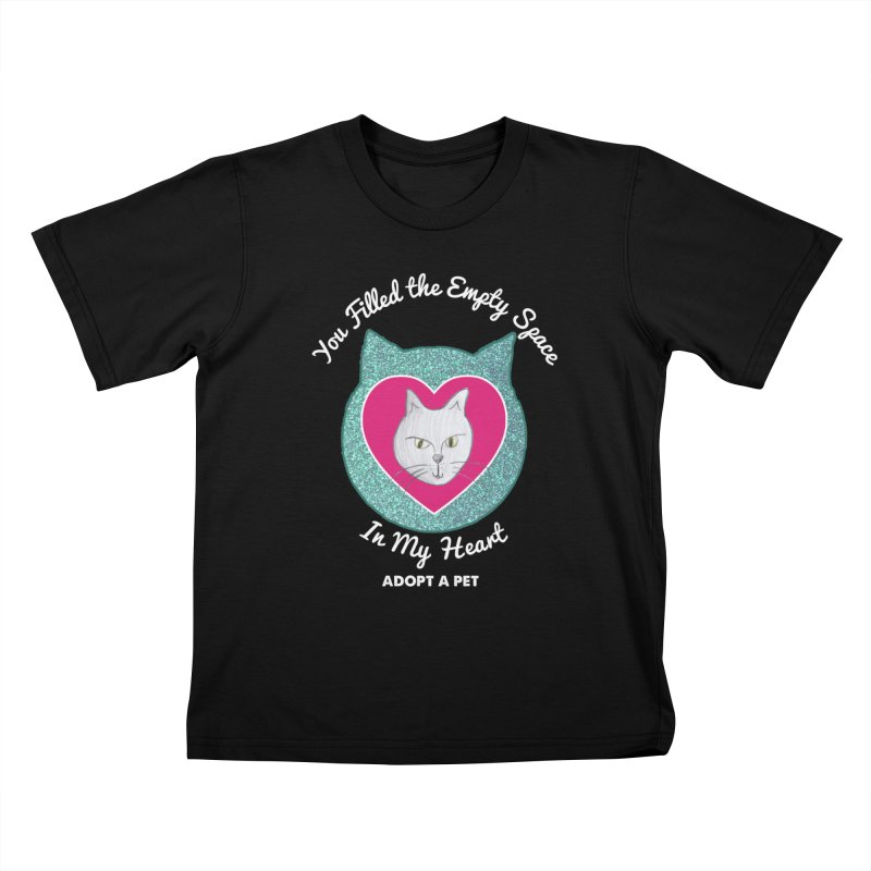 Adopt a Cat Kids T-Shirt by My Rewritten World Artist Shop
