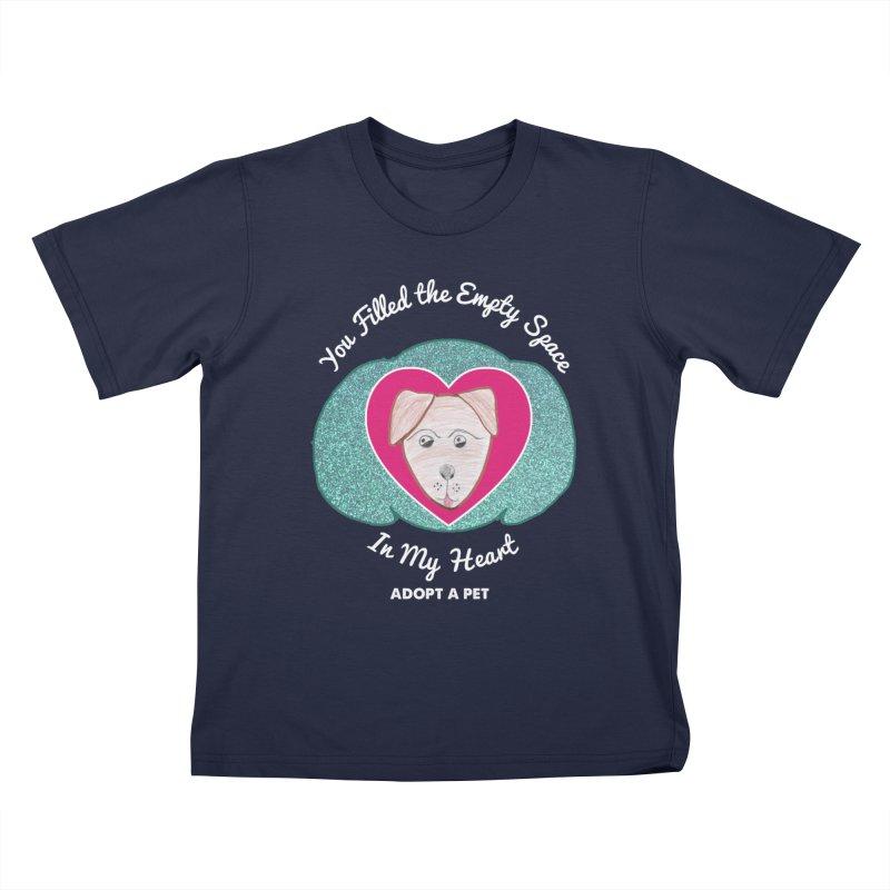 Adopt a dog Kids T-Shirt by My Rewritten World Artist Shop
