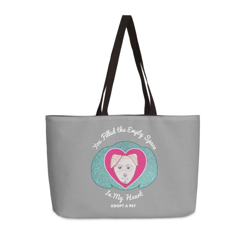 Adopt a dog Accessories Weekender Bag Bag by My Rewritten World Artist Shop