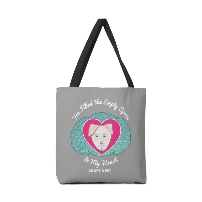 Adopt a dog Accessories Tote Bag Bag by My Rewritten World Artist Shop
