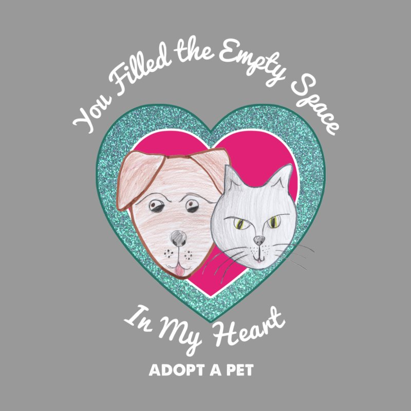 Adopt all the pets Men's T-Shirt by My Rewritten World Artist Shop