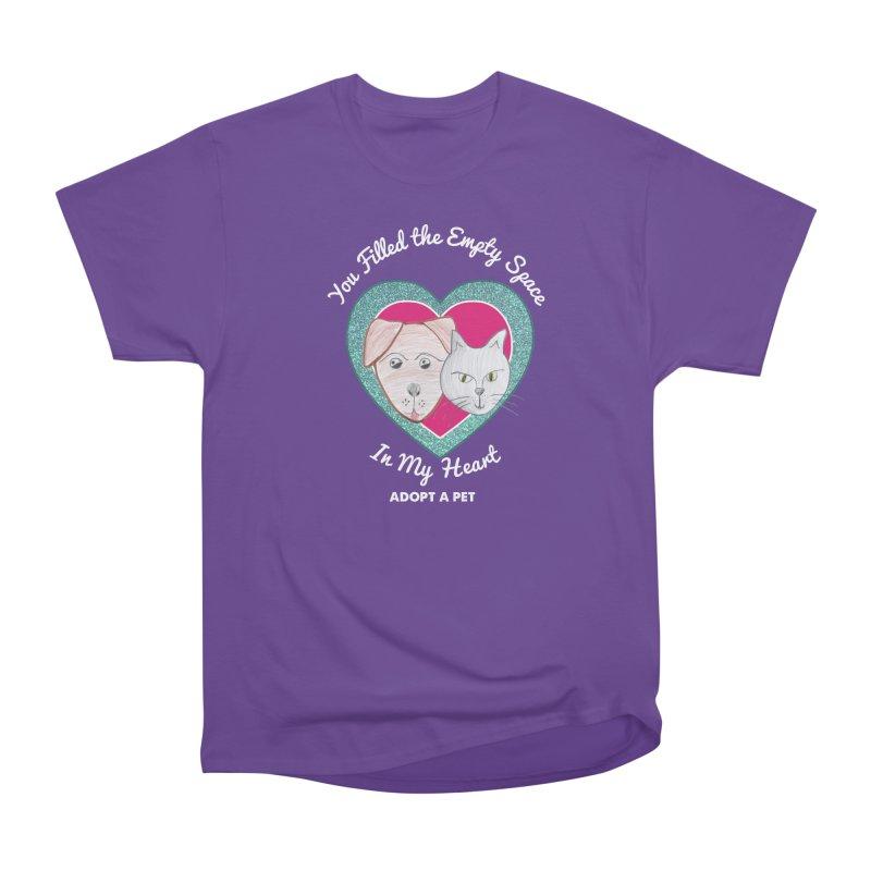 Adopt all the pets Women's Heavyweight Unisex T-Shirt by My Rewritten World Artist Shop