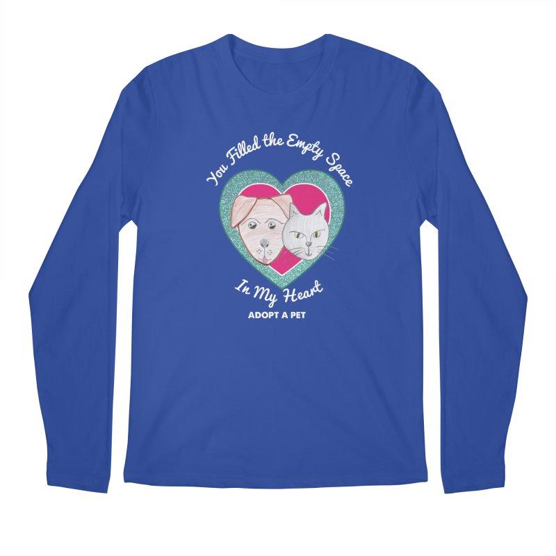 Adopt all the pets Men's Regular Longsleeve T-Shirt by My Rewritten World Artist Shop