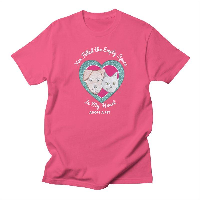Adopt all the pets Women's Regular Unisex T-Shirt by My Rewritten World Artist Shop