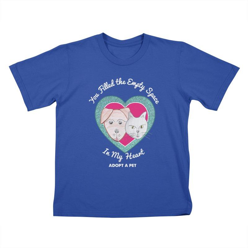 Adopt all the pets Kids T-Shirt by My Rewritten World Artist Shop