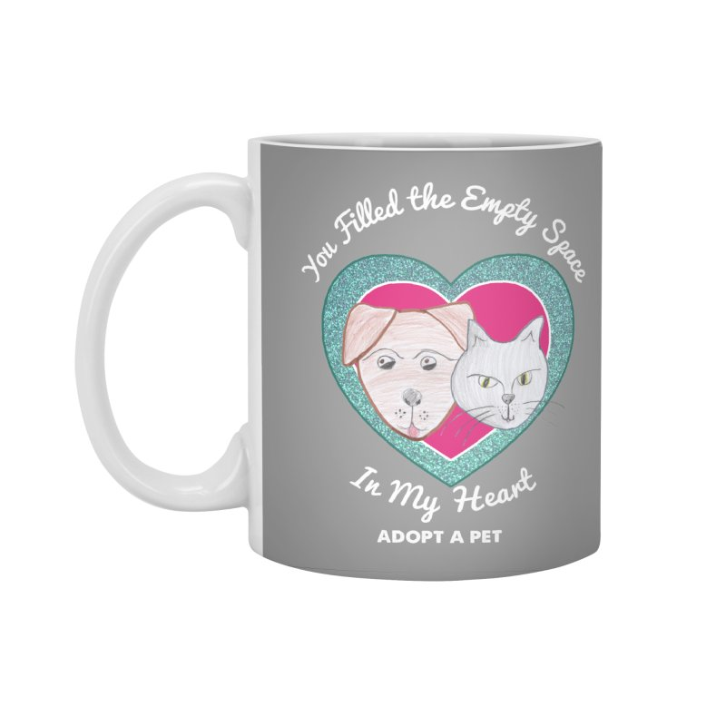 Adopt all the pets Accessories Standard Mug by My Rewritten World Artist Shop