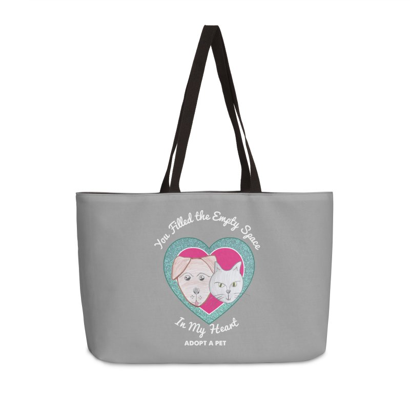 Adopt all the pets Accessories Weekender Bag Bag by My Rewritten World Artist Shop