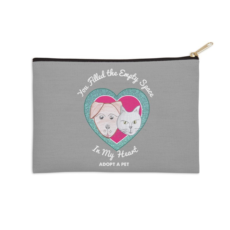 Adopt all the pets Accessories Zip Pouch by My Rewritten World Artist Shop