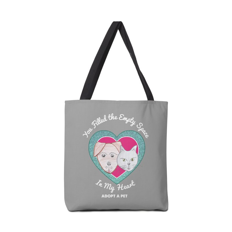 Adopt all the pets Accessories Tote Bag Bag by My Rewritten World Artist Shop