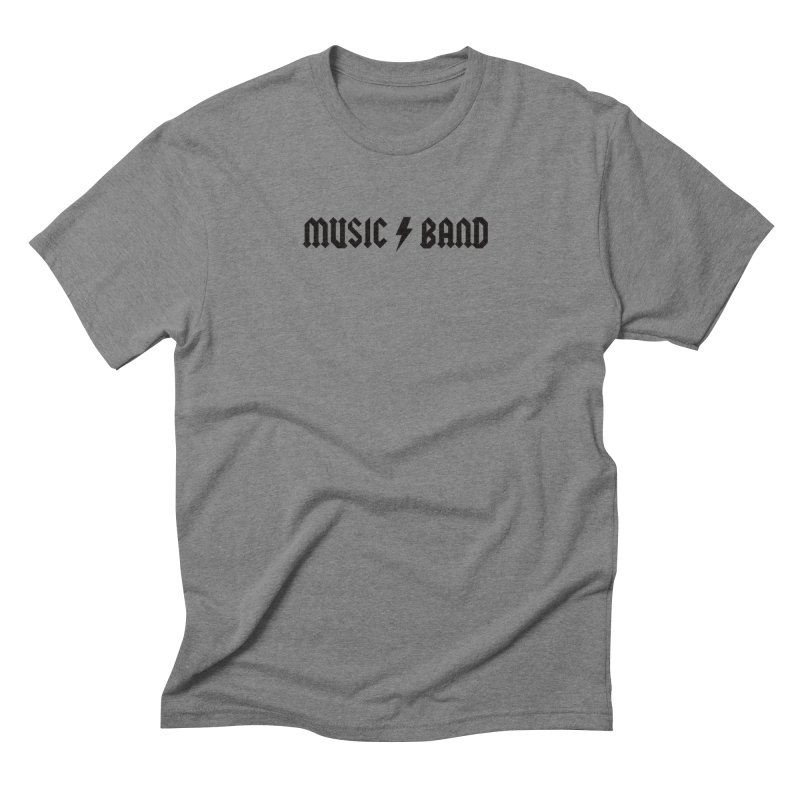 Music Band Men's T-Shirt by Mystery Supply Co.
