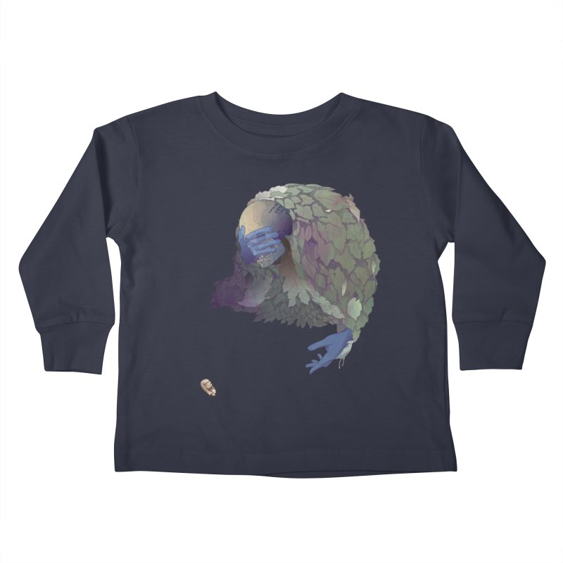 Grimaldi Kids Toddler Longsleeve T-Shirt by Rhea Ewing's Artist Shop