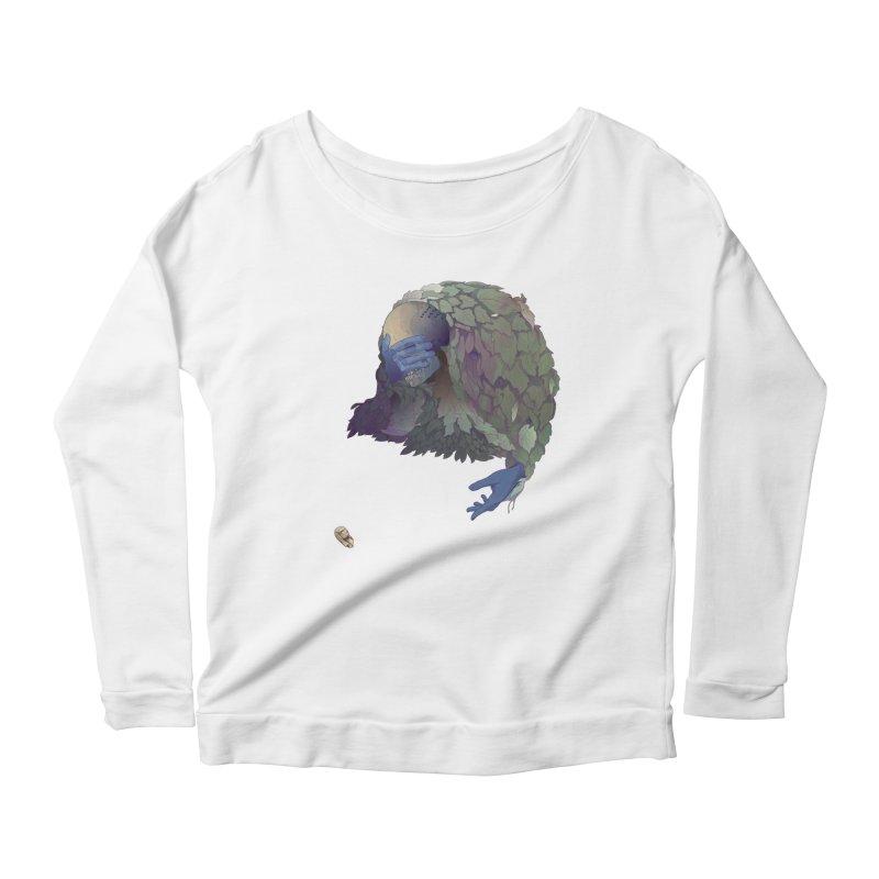 Grimaldi Women's Scoop Neck Longsleeve T-Shirt by Rhea Ewing's Artist Shop