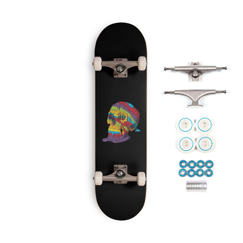 Melty Skull Accessories Complete - Basic Skateboard by Mystic Soda