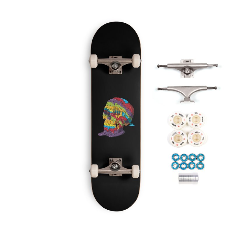 Melty Skull Accessories Complete - Premium Skateboard by Mystic Soda