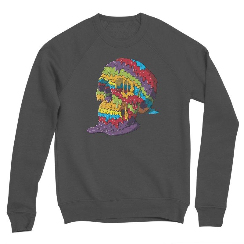 Melty Skull Women's Sponge Fleece Sweatshirt by Mystic Soda