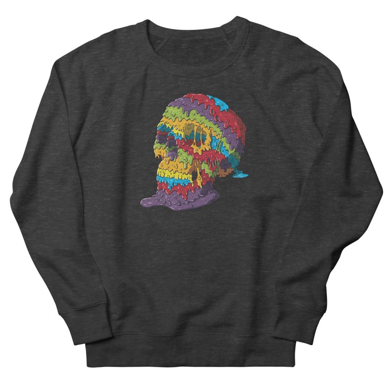 Melty Skull Women's French Terry Sweatshirt by Mystic Soda