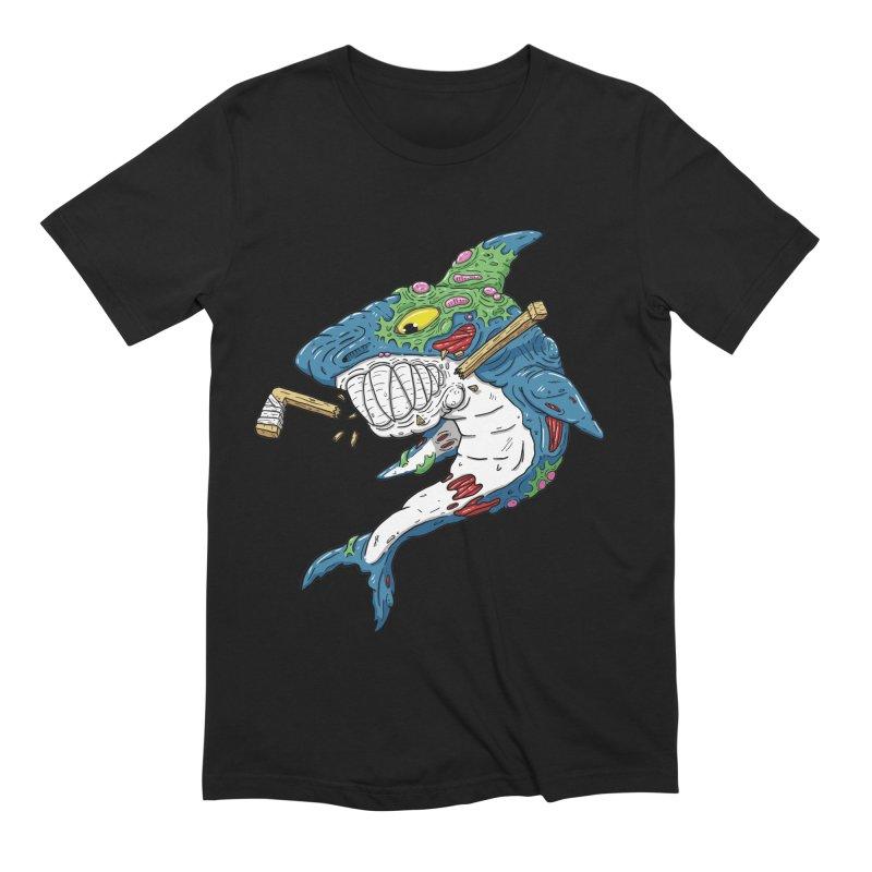 SHOCKEY! Men's Extra Soft T-Shirt by Mystic Soda