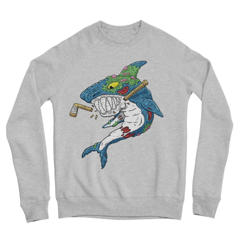 SHOCKEY! Women's Sponge Fleece Sweatshirt by Mystic Soda