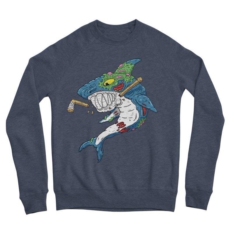 SHOCKEY! Men's Sponge Fleece Sweatshirt by Mystic Soda