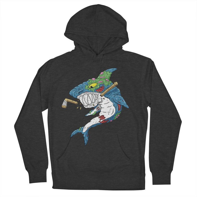 SHOCKEY! Women's French Terry Pullover Hoody by Mystic Soda