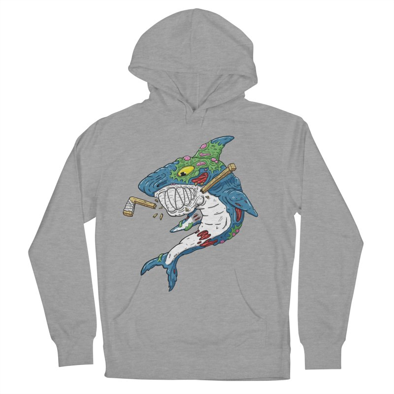 SHOCKEY! Men's French Terry Pullover Hoody by Mystic Soda