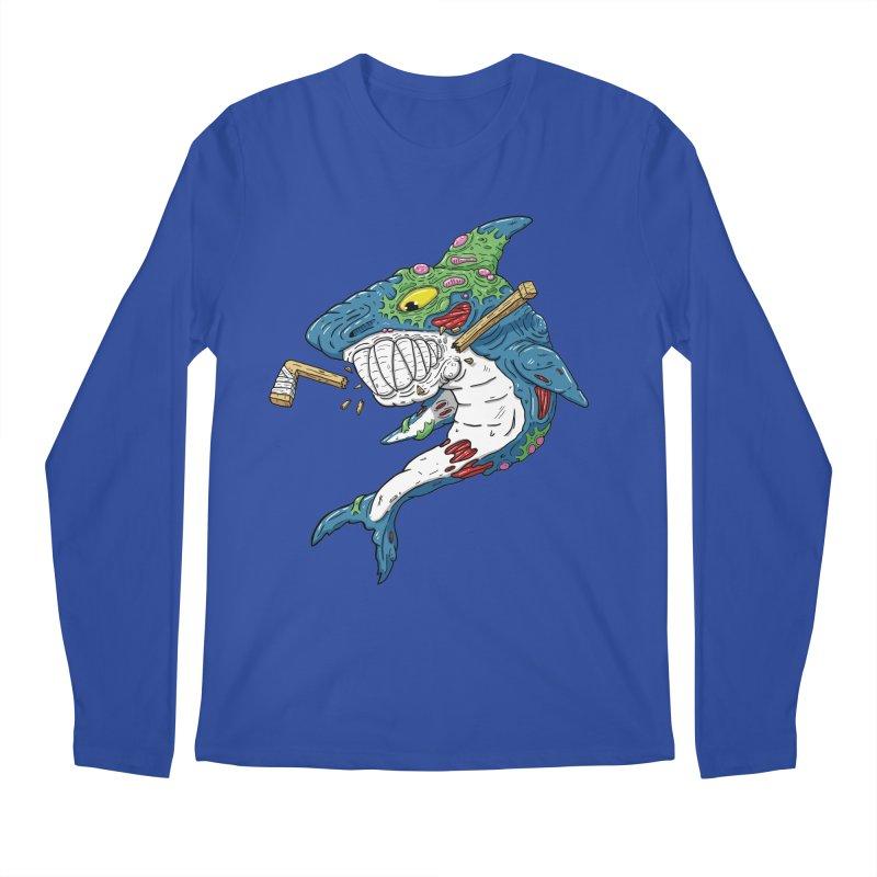 SHOCKEY! Men's Regular Longsleeve T-Shirt by Mystic Soda