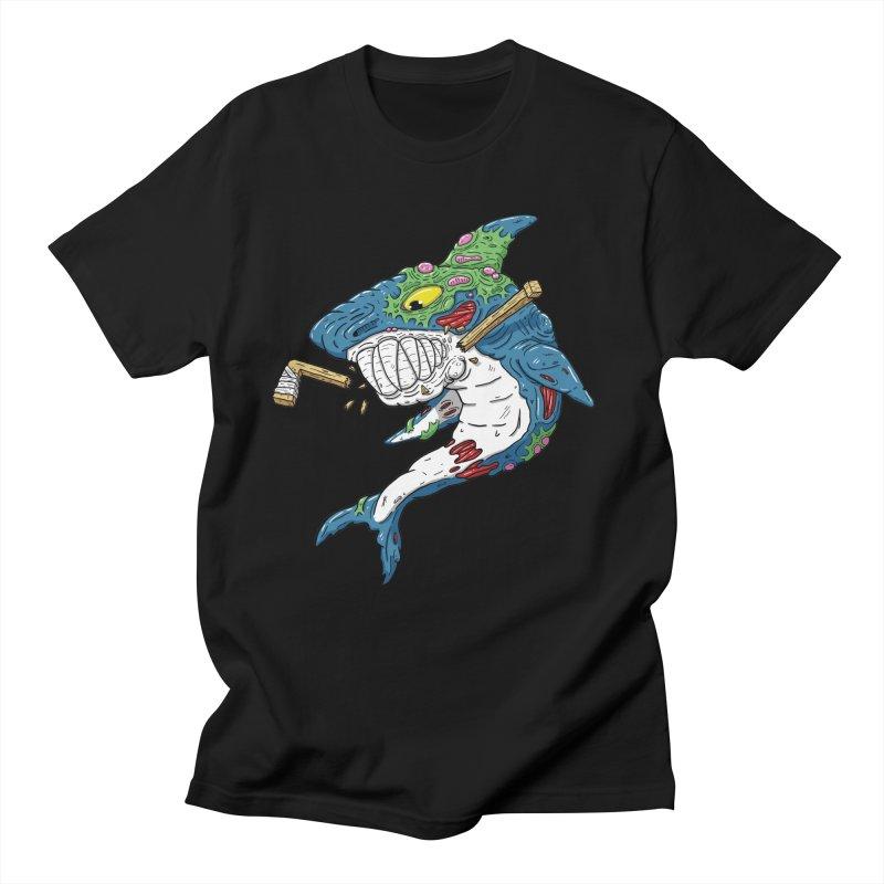 SHOCKEY! Women's Regular Unisex T-Shirt by Mystic Soda