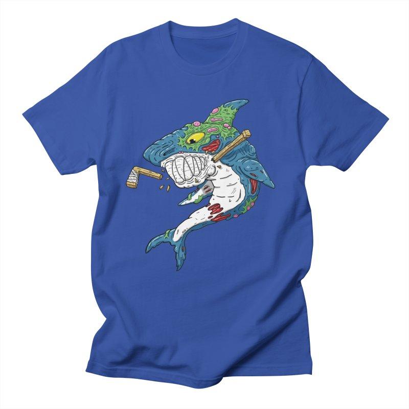 SHOCKEY! Men's Regular T-Shirt by Mystic Soda