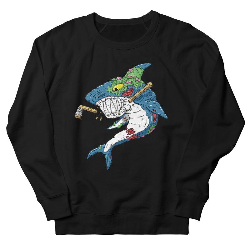 SHOCKEY! Men's French Terry Sweatshirt by Mystic Soda