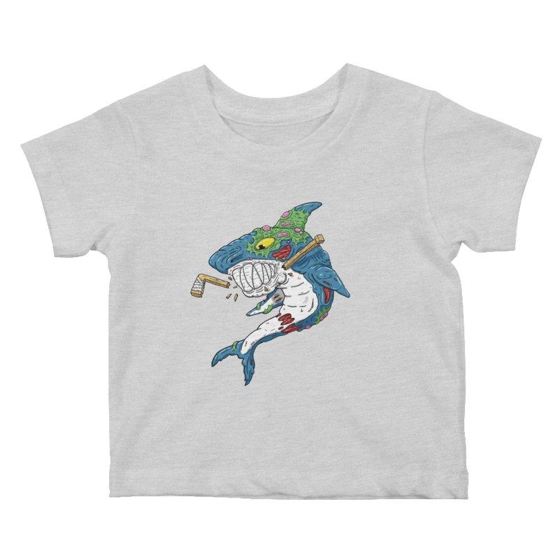 SHOCKEY! Kids Baby T-Shirt by Mystic Soda