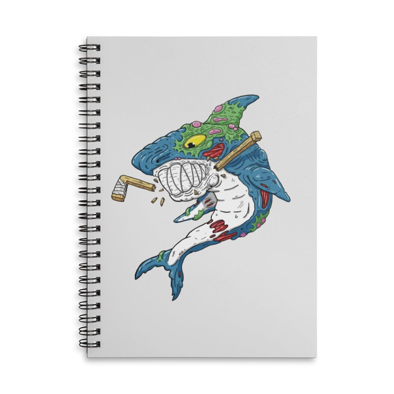 SHOCKEY! Accessories Lined Spiral Notebook by Mystic Soda