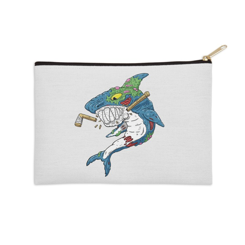SHOCKEY! Accessories Zip Pouch by Mystic Soda