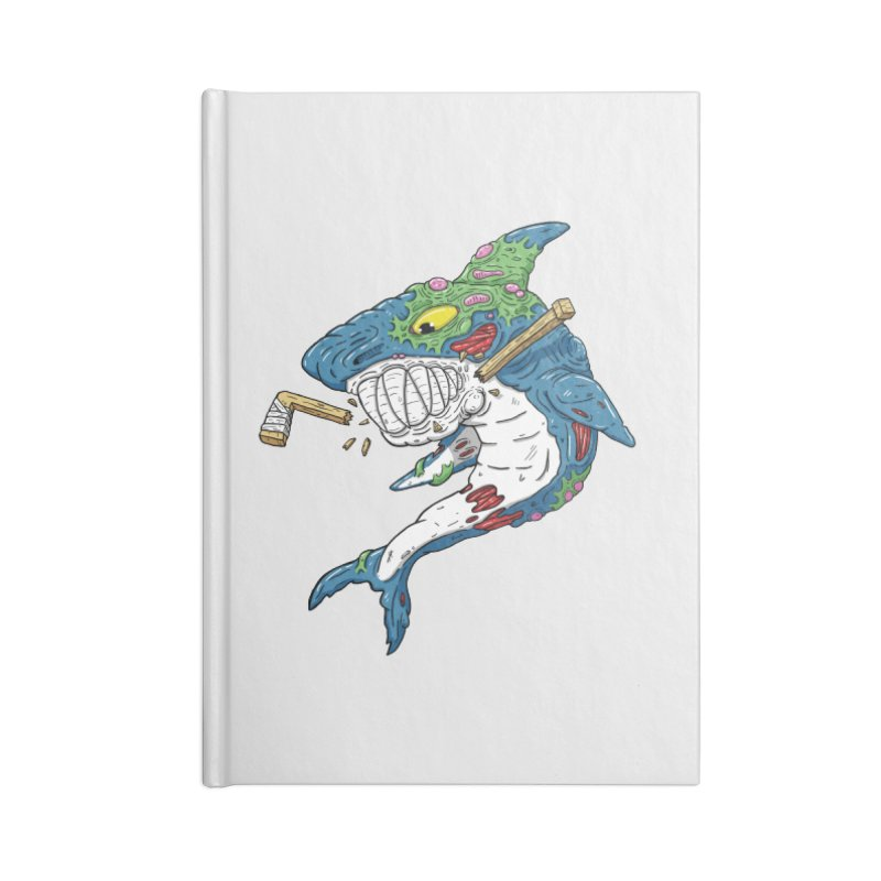 SHOCKEY! Accessories Blank Journal Notebook by Mystic Soda