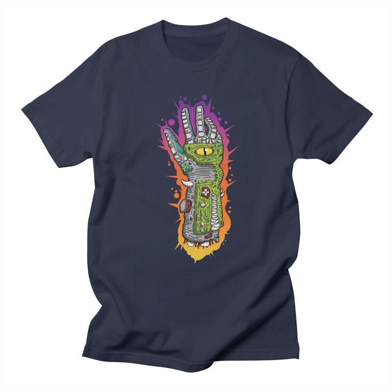 Controller Freaks - The PWR_GL0V Men's Regular T-Shirt by Mystic Soda