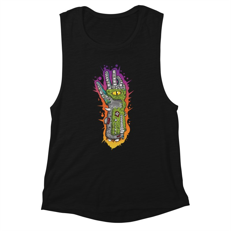 Controller Freaks - The PWR_GL0V Women's Tank by Mystic Soda