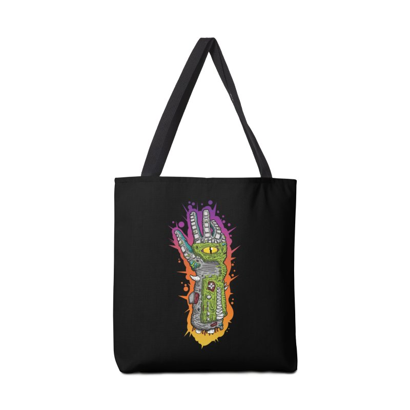 Controller Freaks - The PWR_GL0V Accessories Tote Bag Bag by Mystic Soda