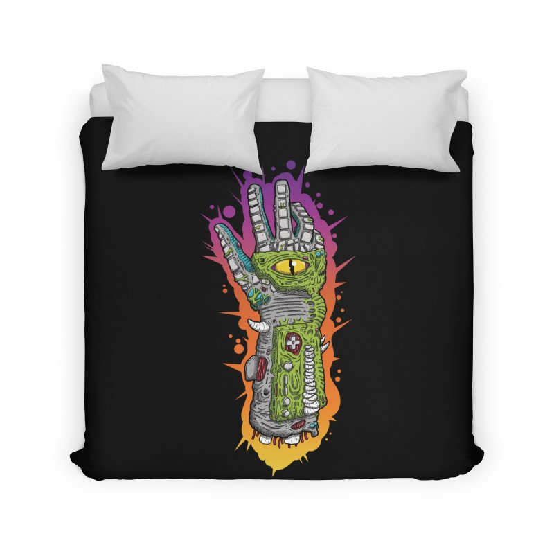 Controller Freaks - The PWR_GL0V Home Duvet by Mystic Soda