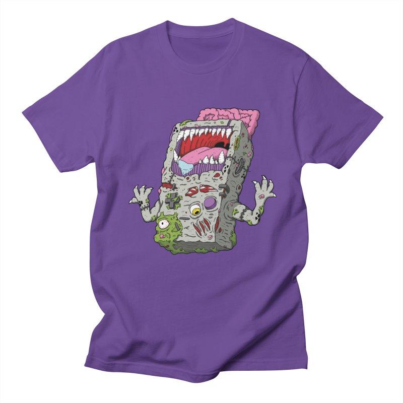 Controller Freaks - Game Boy in Men's Regular T-Shirt Purple by Mystic Soda Shoppe