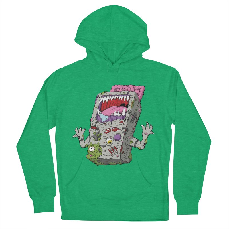 Controller Freaks - Game Boy Women's French Terry Pullover Hoody by Mystic Soda Shoppe