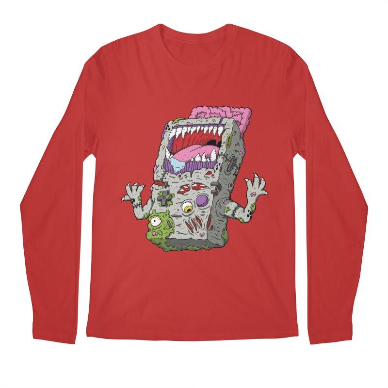 Controller Freaks - Game Boy Men's Longsleeve T-Shirt by Mystic Soda Shoppe