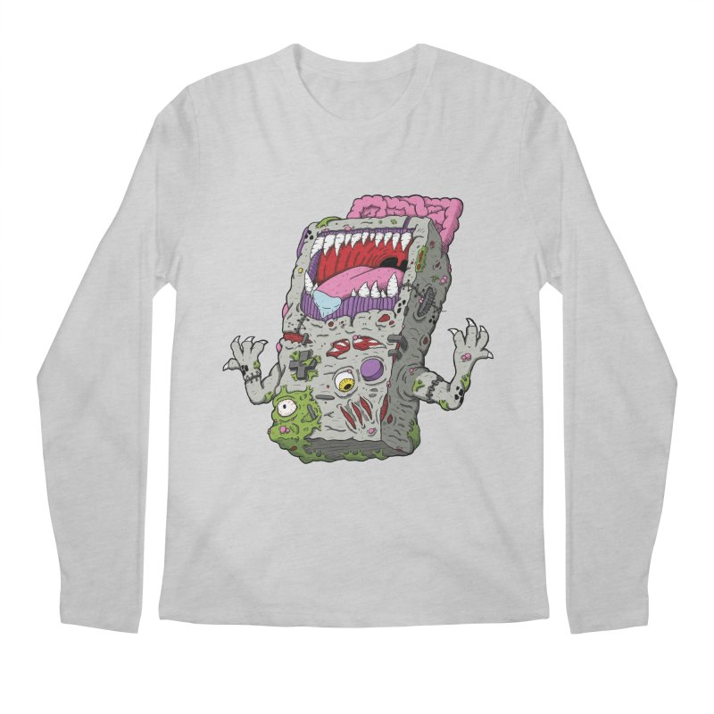 Controller Freaks - Game Boy Men's Regular Longsleeve T-Shirt by Mystic Soda Shoppe