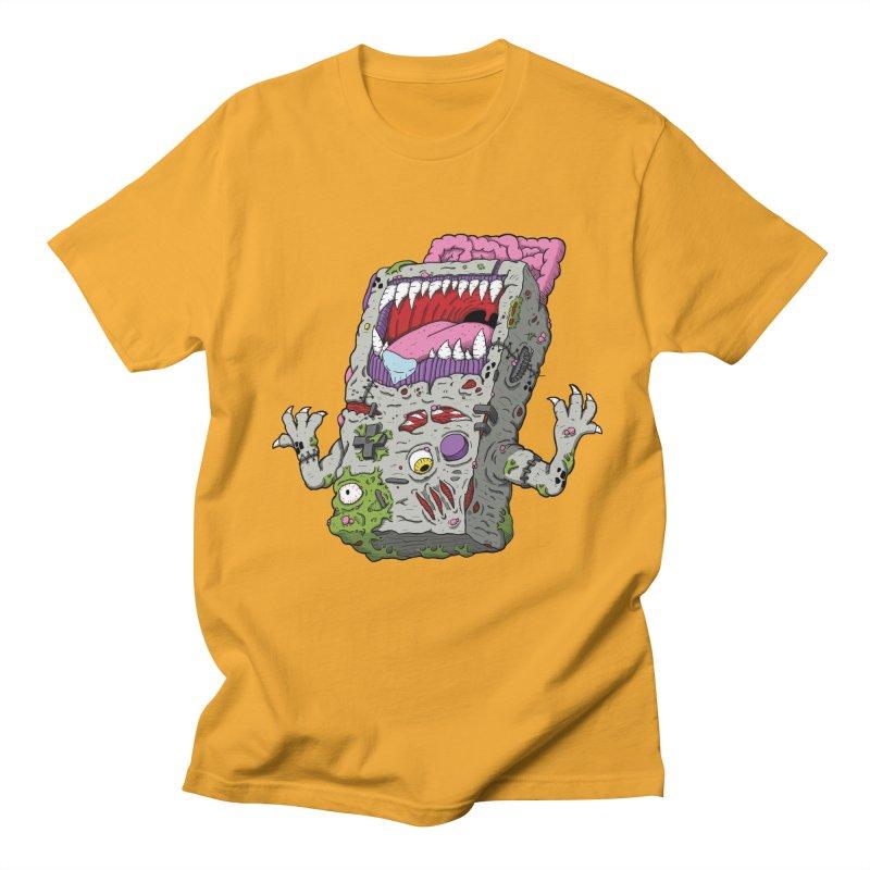 Controller Freaks - Game Boy Men's T-Shirt by Mystic Soda Shoppe