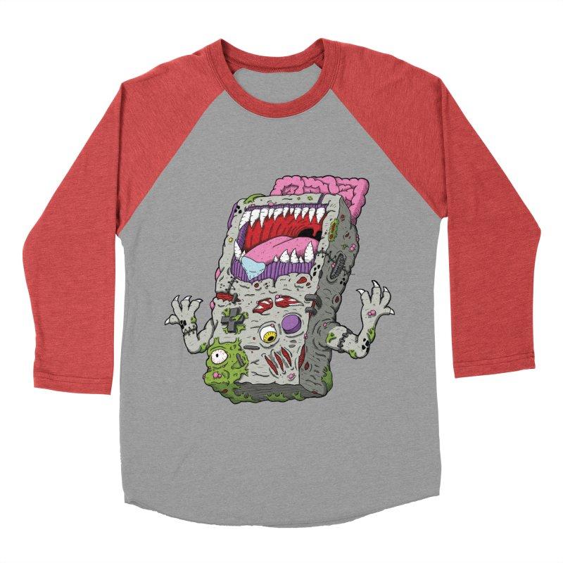 Controller Freaks - Game Boy Women's Baseball Triblend T-Shirt by Mystic Soda Shoppe