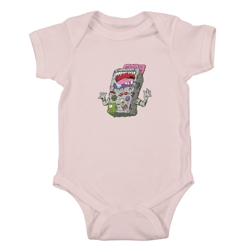 Controller Freaks - The G4ME-B0Y Kids Baby Bodysuit by Mystic Soda