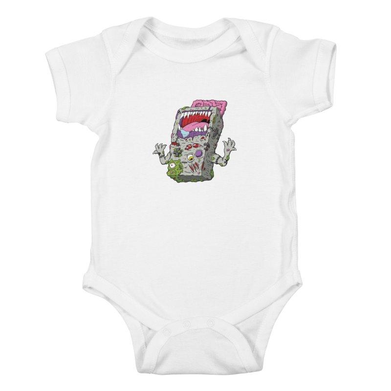 Controller Freaks - Game Boy Kids Baby Bodysuit by Mystic Soda Shoppe