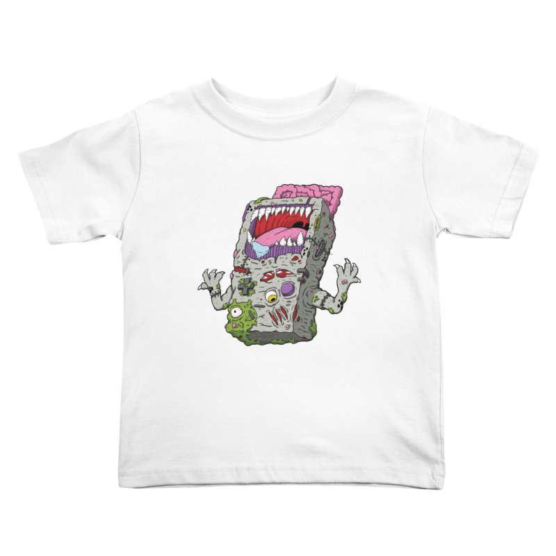 Controller Freaks - Game Boy Kids Toddler T-Shirt by Mystic Soda Shoppe