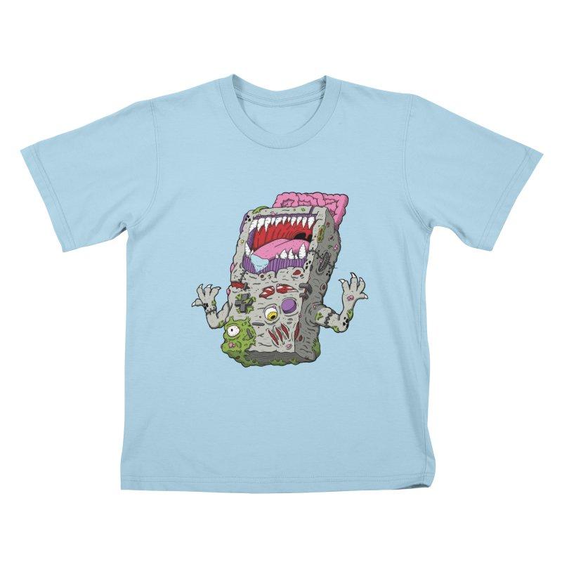 Controller Freaks - Game Boy Kids T-Shirt by Mystic Soda Shoppe