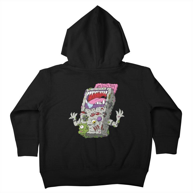 Controller Freaks - Game Boy Kids Toddler Zip-Up Hoody by Mystic Soda Shoppe